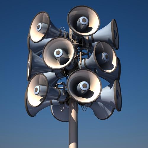 air curtain loudness