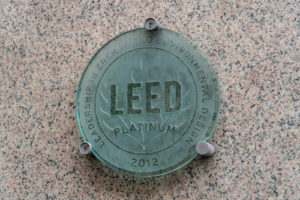 air curtains can help you earn leed points